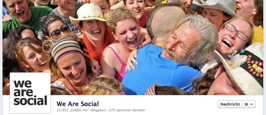 We Are Social Coverbild