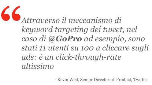 Twitter Keyword Targeting, Kevin Weil