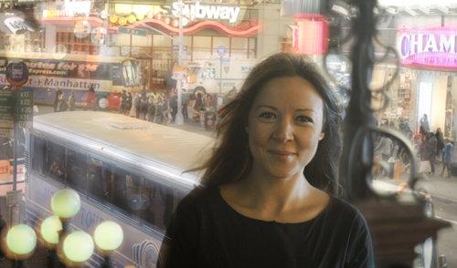 Leila Thabet, in New York