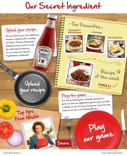 Heinz Tomato Ketchup: Secret Ingredient