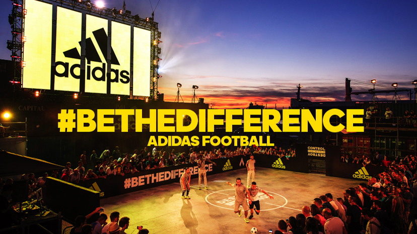 Adidas #BeTheDifference campaign image