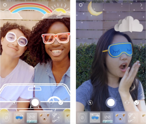 296961dbe1 Update your iOS or Android applications to version 10.21 or higher to be  able to access brand new face filters on Instagram!