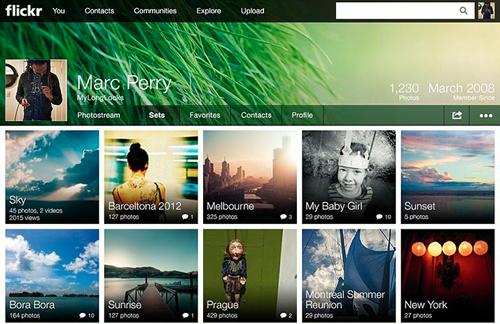 Flickr-neues-Design