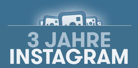 3 Jahre Instagram - Infografik Header