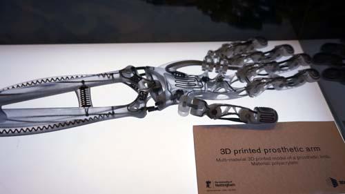 Prothèse composite imprimée en 3D