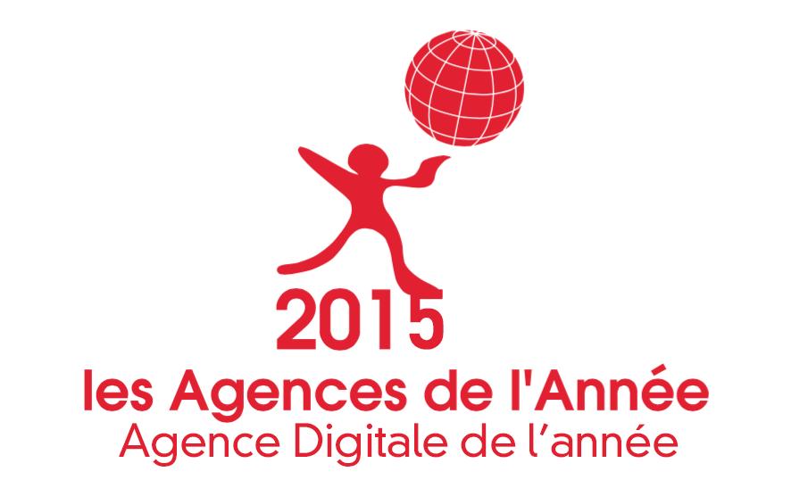 Agence Digitale de l'Année 2015