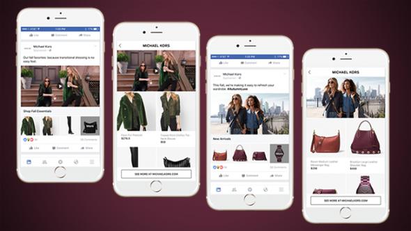 Facebook lance un nouveau format publicitaire multi-produits