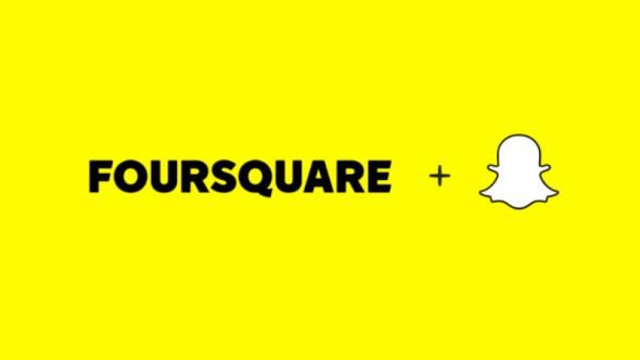 Snapchat signe un accord avec Foursquare