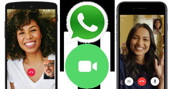 WhatsApp lance les appels vidéo