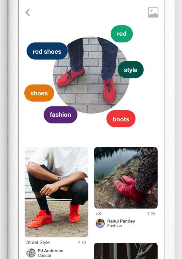 Lens : le Shazam des objets débarque sur Pinterest