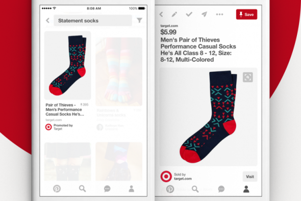 Pinterest développe la publicité avec les mots-clés