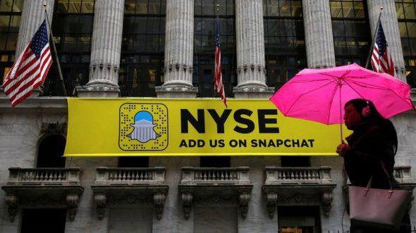 Snapchat serait-il l'agneau de Wall Street?