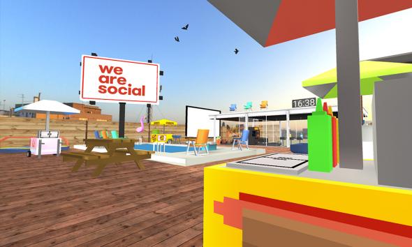 La VR Room WeAreSocial - #SocialVR