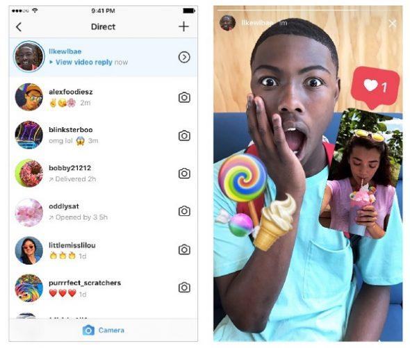 Répondre aux Stories Instagram par des vidéos ou des photos : c'est possible