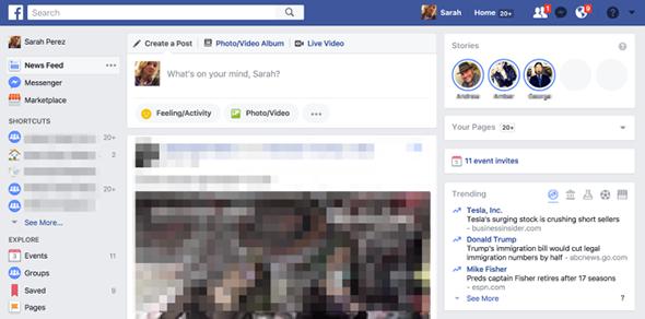 Facebook ouvre ses Stories au public et sur desktop