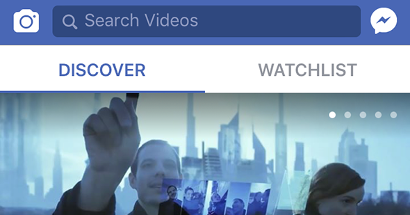 Facebook lance officiellement Facebook Watch aux USA