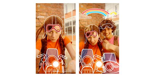 Instagram améliore ses selfies en stories et en Direct Messages