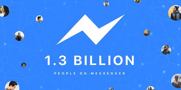 Quand Messenger dépasse les 1,3 milliard d'utilisateurs
