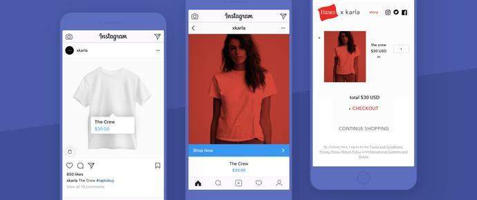 Instagram à la conquête du e-commerce