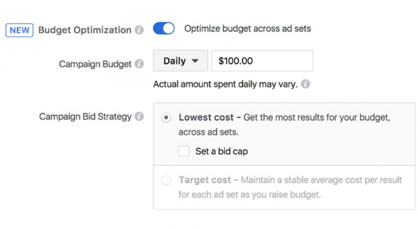 Facebook lance Budget Optimization