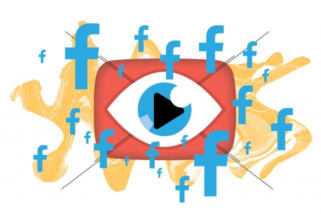 Facebook teste les pubs en pré-roll