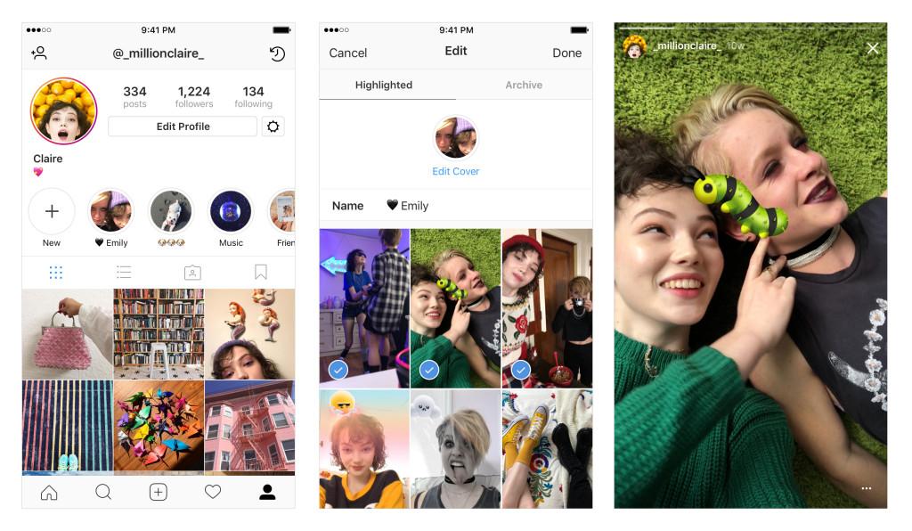 """""""Nouvelles fonctionnalités pour les stories Instagram"""