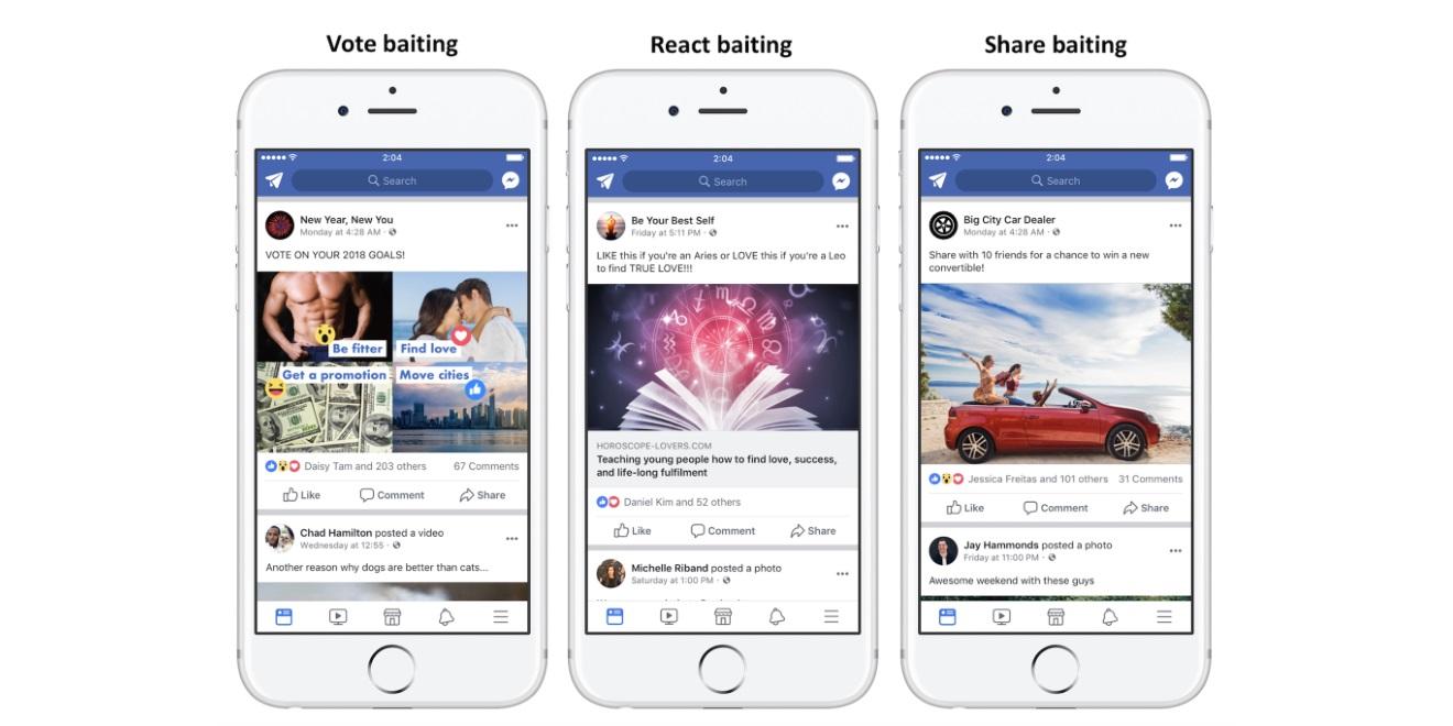 Facebook met fin à l'appel aux likes