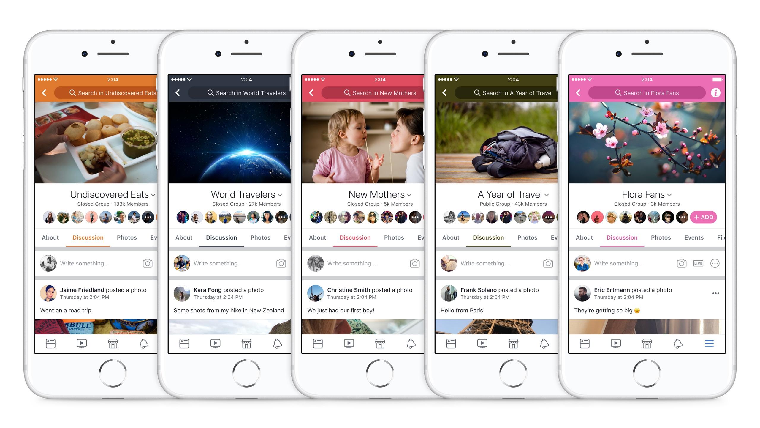 Facebook intensifie son support pour les groupes