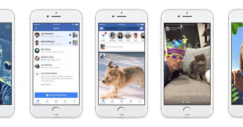 Priorité aux Stories sur Facebook