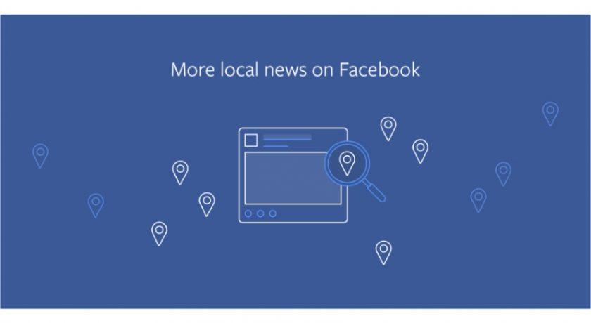 Facebook change son algorithme pour favoriser les médias locaux
