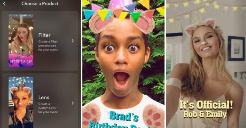 On peut désormais créer ses propres filtres Snapchat !
