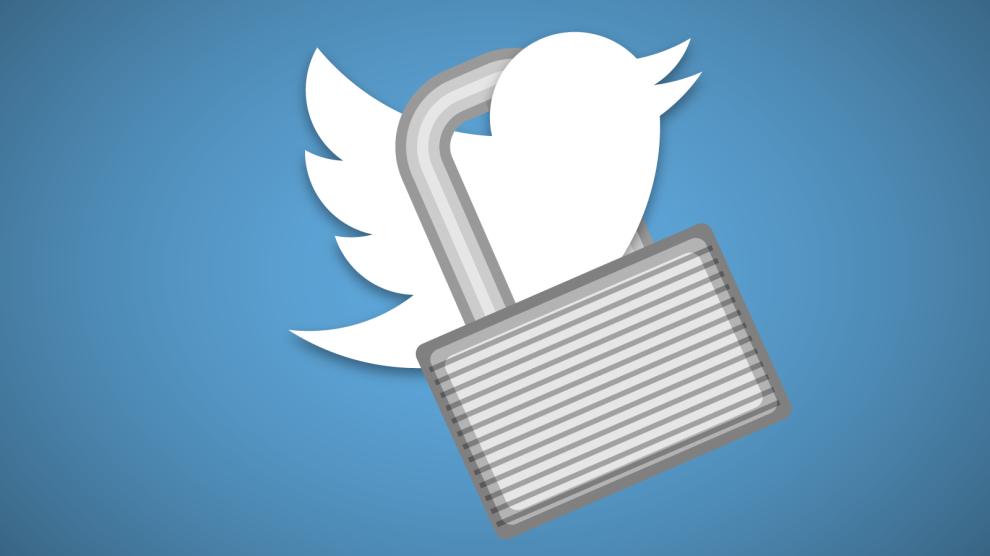 Messagerie Twitter cryptée