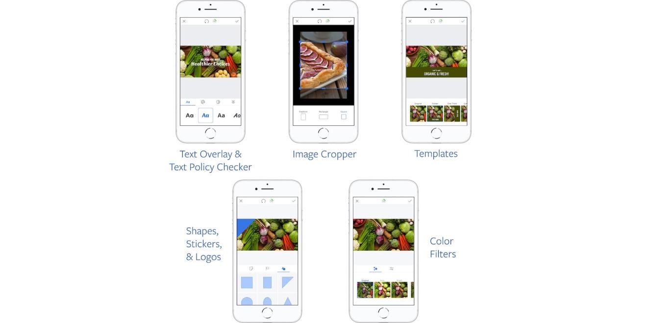 Facebook lance des outils créatifs pour ses publicités