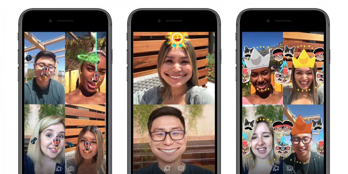 Des jeux en réalité augmentée multijoueurs sur Messenger