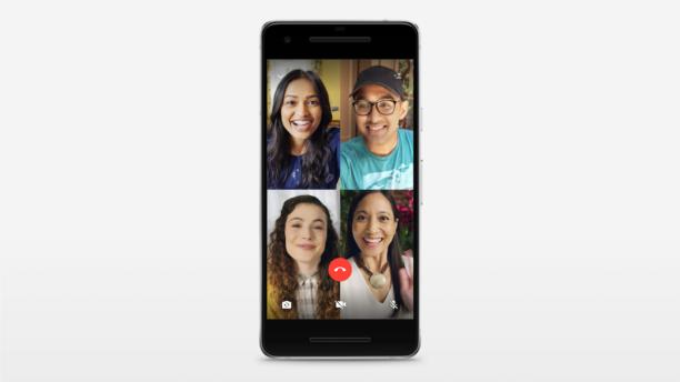 Whatsapp propose des appels vidéos et vocaux groupés