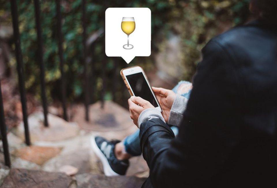 L'émoji verre de vin blanc pourrait finalement voir le jour
