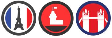 FourSquare City Badges