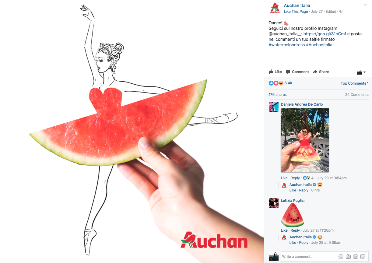 auchan #watermelondress