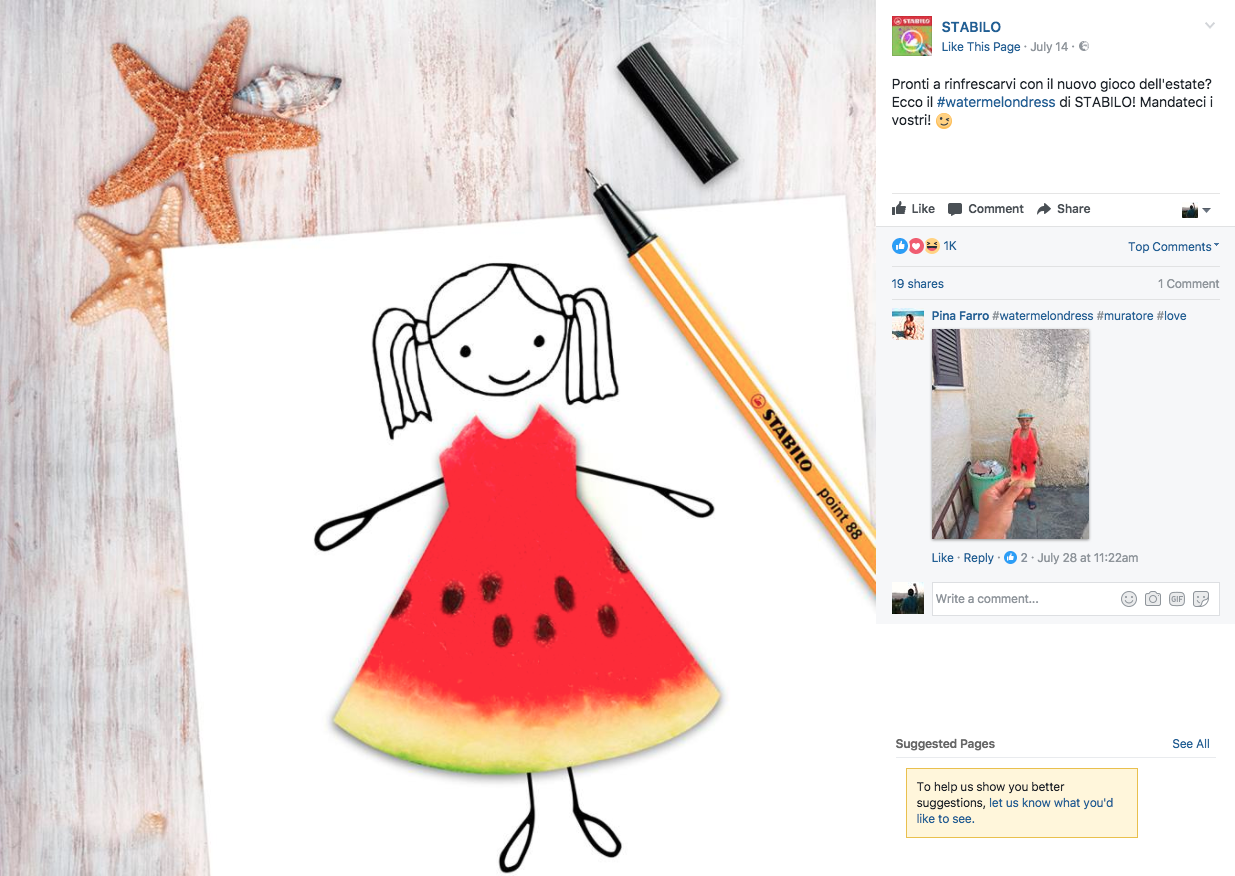 stabilo #watermelondress