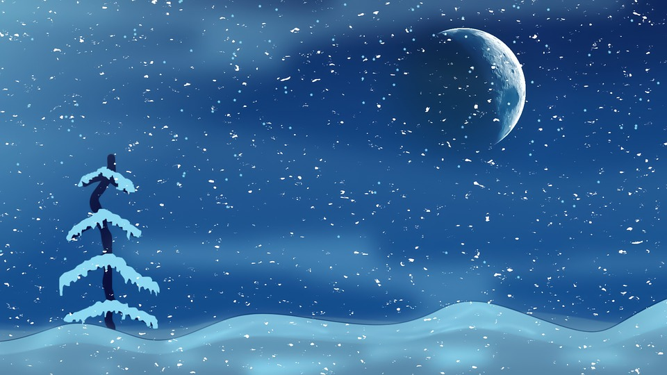 christmas night sky clipart - photo #11