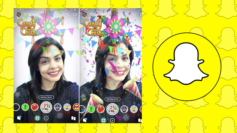 Snapchat Shoppable AR