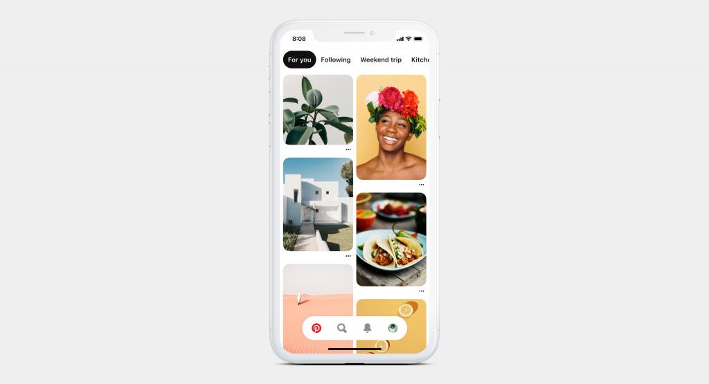 Pinterest effettua un refresh della piattaforma. Ancora più semplice e visiva.