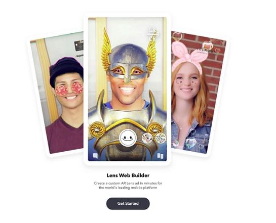 Snapchat lancia Lens Web Builder per semplificare la creazione di campagne AR Lens