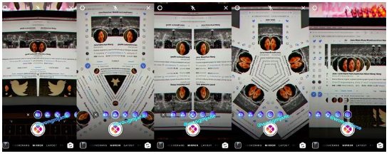 Instagram lancia la modalità Mirror per le stories