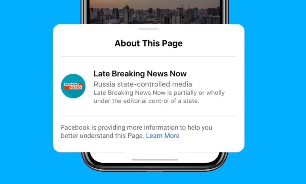 facebook controlled media