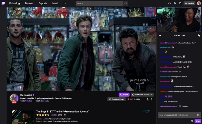 Twitch lancia i Watch Party