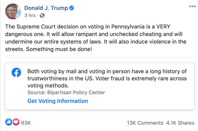 elezioni americane social
