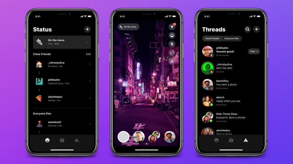 app di messaggistica Threads