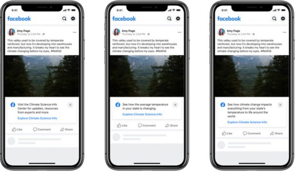 Facebook Expands Climate Science Information Center
