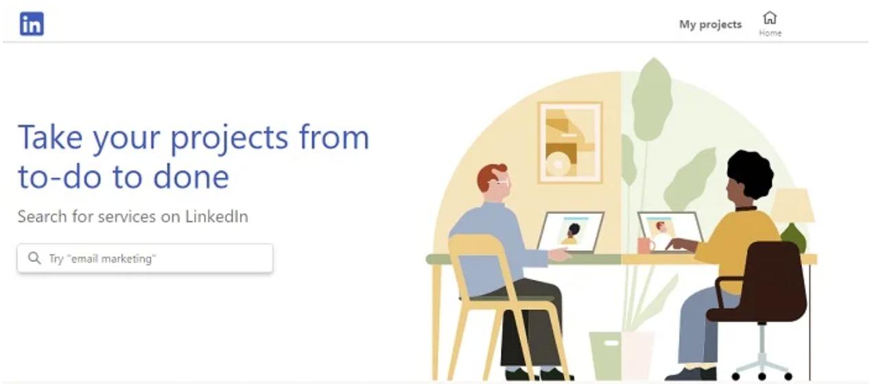 LinkedIn New Marketplace for Freelancer